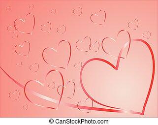 kaart, valentijn