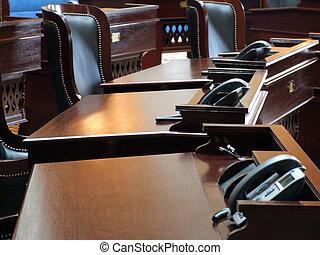 kamer, vergadering, regering, /
