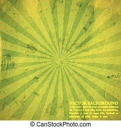 karton, grunge, textuur, abstract, achtergrond, groene