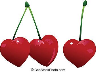 kers, drie, hart