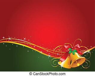 kerstklokken, achtergrond