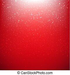 kerstmis, achtergrond, rood