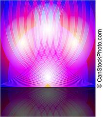 kleurrijke, achtergrond, abstract