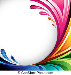 kleurrijke, achtergrond