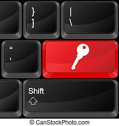 knoop, computer sleutel
