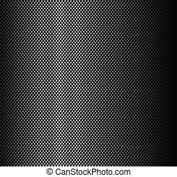 koolstof, sticker, vezel, textuur
