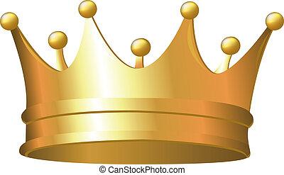 kroon, goud