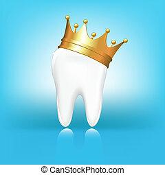 kroon, tand