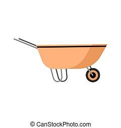 kruiwagen, tuinieren hulpmiddel