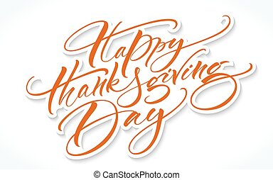 lettering, dankzegging, dag