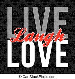 leven, liefde, lach