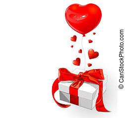liefde, cadeau