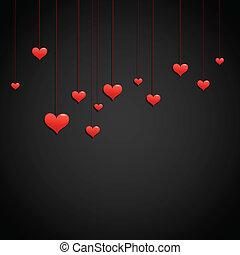 liefde, dag, achtergrond, valentijn