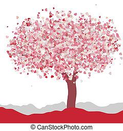 liefde, eps, valentine., trouwfeest, 8, of, kaart, design.
