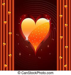 liefde, valentijn, jubileum, hart, trouwfeest