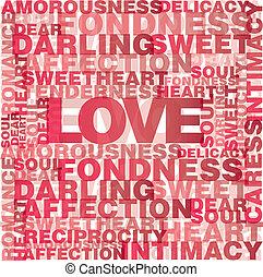 liefde, woorden, valentijn