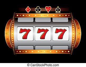 machine, casino