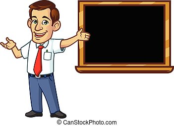mannelijke leraar
