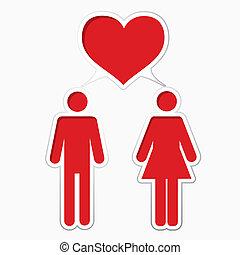 mannelijke , vrouwlijk, hartelijk