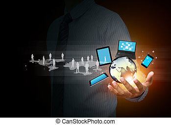 media, technologie, sociaal