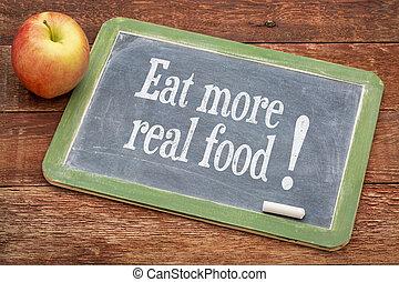 meer, voedingsmiddelen, echte, eten