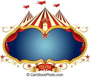 meldingsbord, circus