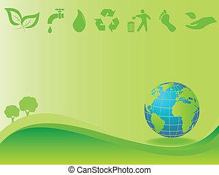 milieu, aarde, schoonmaken