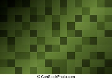 model, abstract, groene achtergrond