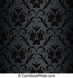 model, behang, black , seamless