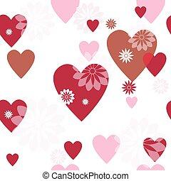 model, seamless, valentijn