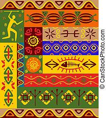 motieven, versieringen, ethnische