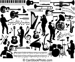 muziek, elements.
