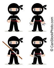ninjas, set