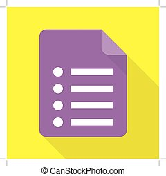 notepad, pictogram
