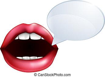 of, klesten, lippen, mond