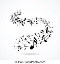 opmerkingen, ontwerp, muzikalisch, vrijstaand