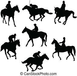 paarden, paardrijden