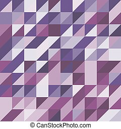 paarse , abstract, toon, driehoeken, achtergrond