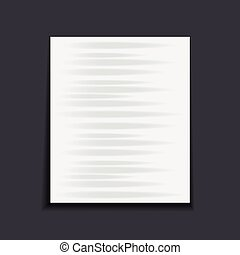 papier, donker, achtergrond., blad