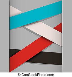 papier, strepen, achtergrond, minimalistic