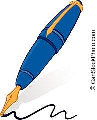 pen, fontijn