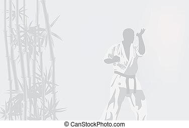 persoon, k, illustratie