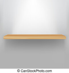 plank, hout, lege