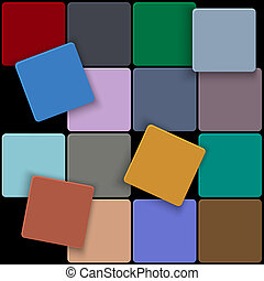 plein, achtergrond, 3d, kleurrijke, minimaal