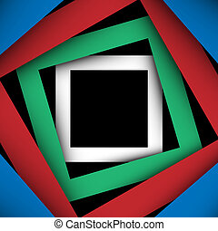 plein, papier, achtergrond, veelkleurig, frame