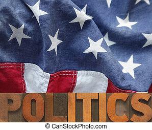 politiek, amerikaan