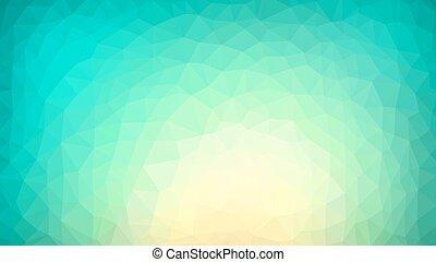 polygonal, vibrant, achtergrond