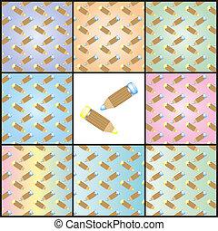 potlood, textuur