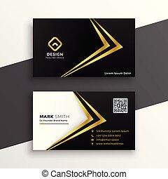 premie, goud, zakelijk, black , luxe, ontwerp, kaart