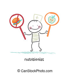 promotes, voedingsmiddelen, voedingsdeskundige, gezonde